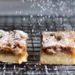 butter tart squares on cooing rack