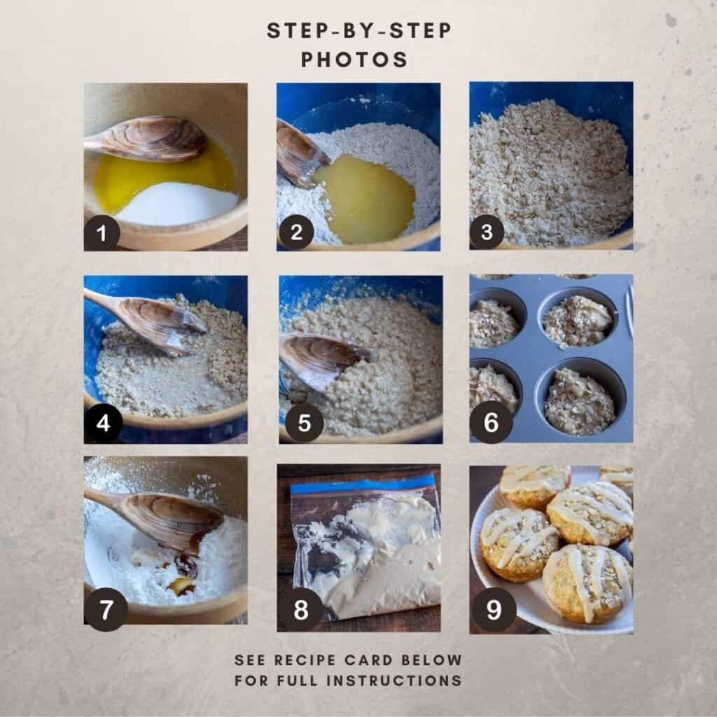 Step-by Step numbered photos for making this recipe.