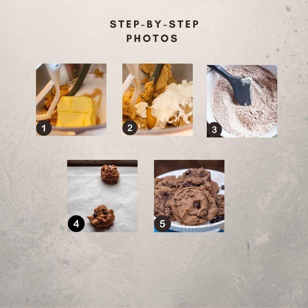 Step by Step photos for making this recipe.