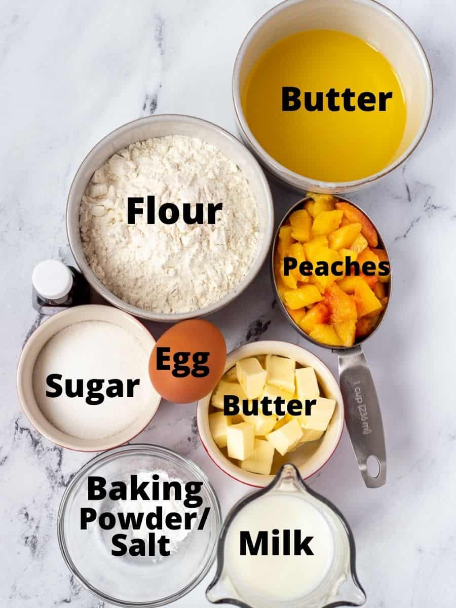 Ingredients in bowls with text overlay.