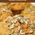 Close up image of Morning Glory Muffins.
